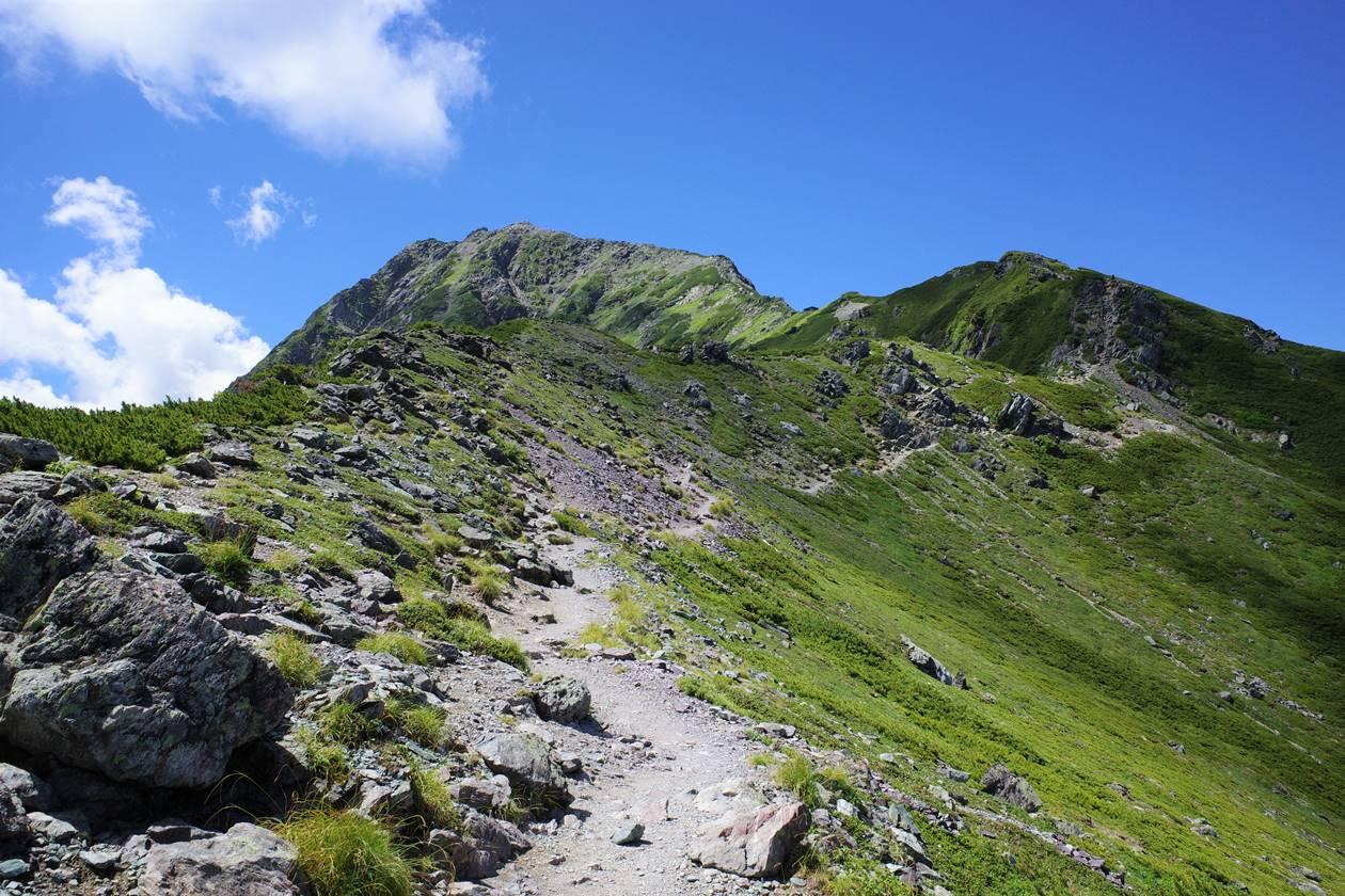 南アルプス北岳登山 白峰三山縦走