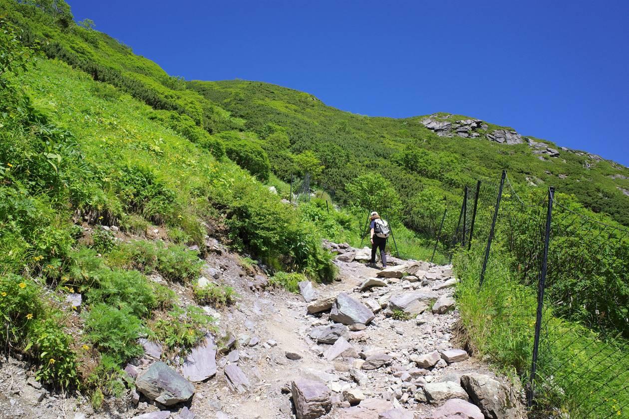 南アルプス北岳登山