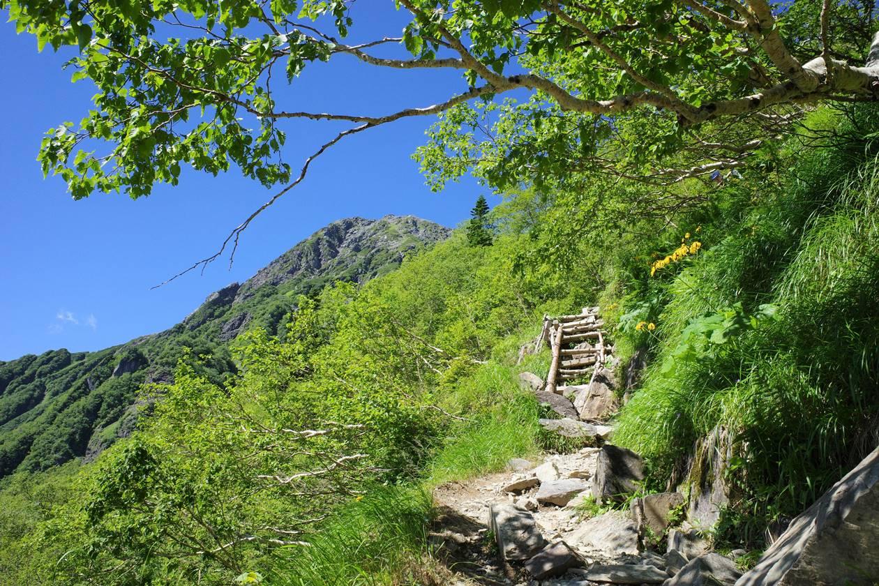 南アルプス北岳 白峰三山縦走登山