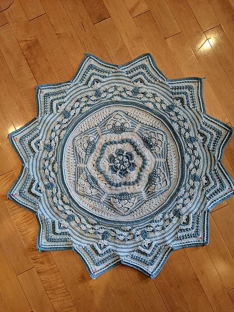Linda's Sacred Space by Helen Shrimpton WIP