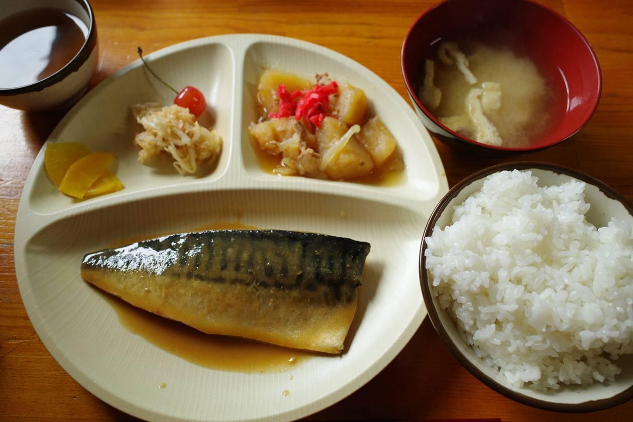 北岳山荘の食事(夕食)