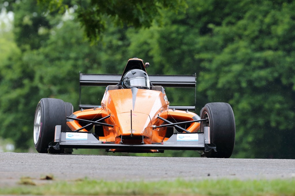 Pete Goulding's Mygale M13 at Crystal Palace (Mike Stokes)