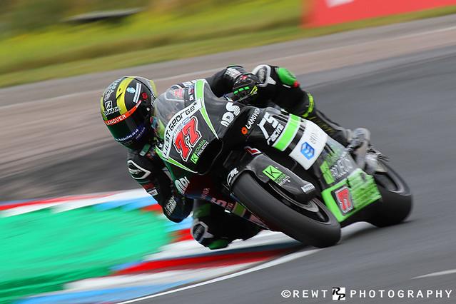 Kyle Ryde Kovara By RS Racing Kalex Dickies British Supersport Championship BSB Superbikes Thruxton 2019 REWT Photography Tuffin