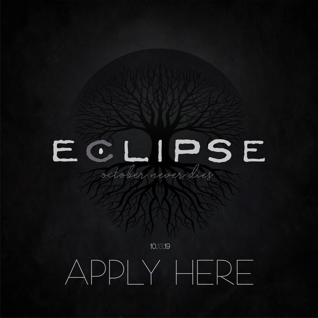 ECLIPSE Poster APPLY HERE – October