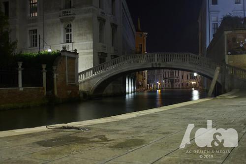 Venice, Italy. Canal Bridge ©ACD&M 2019. Photographer Aaron Cooper