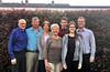 Frank und  Sigrids Familie bei uns in Eschborn im Mai dieses Jahres