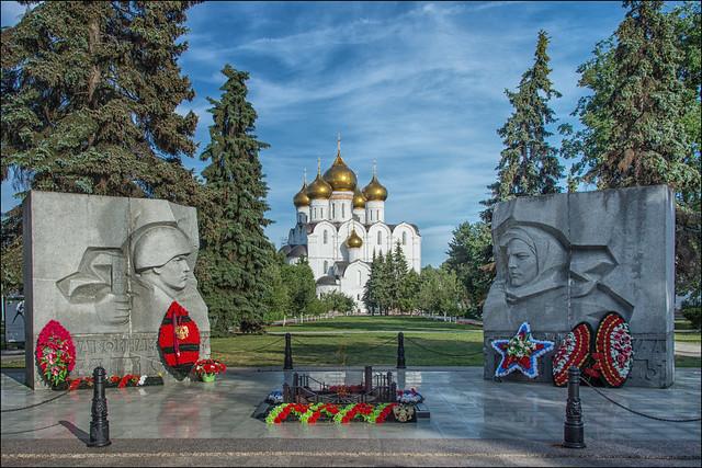 Yaroslavl , World War II Memorial ...