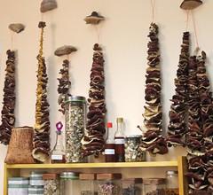 Dried mushroom garlands