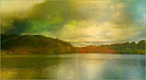 jan130 lake water blackrootpool suttonparkhartoppgate suttoncoldfield englanduk topazstudio textured music song bobdylan