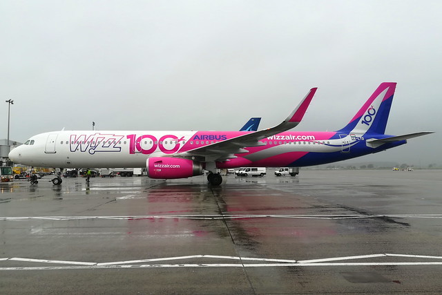 100th Wizz Airbus