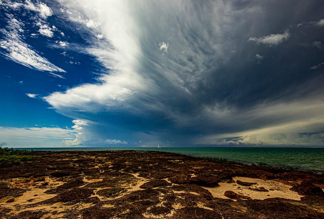 Small Storm, East Point Beach, Darwin