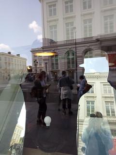 Magritte Museum Shop Window