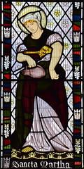 St Martha (Dante Gabriel Rossetti, 1865)