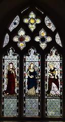 St Mary Magdalene, Blessed Virgin, St Martha (Morris, Marshall, Faulkner & co, 1865)