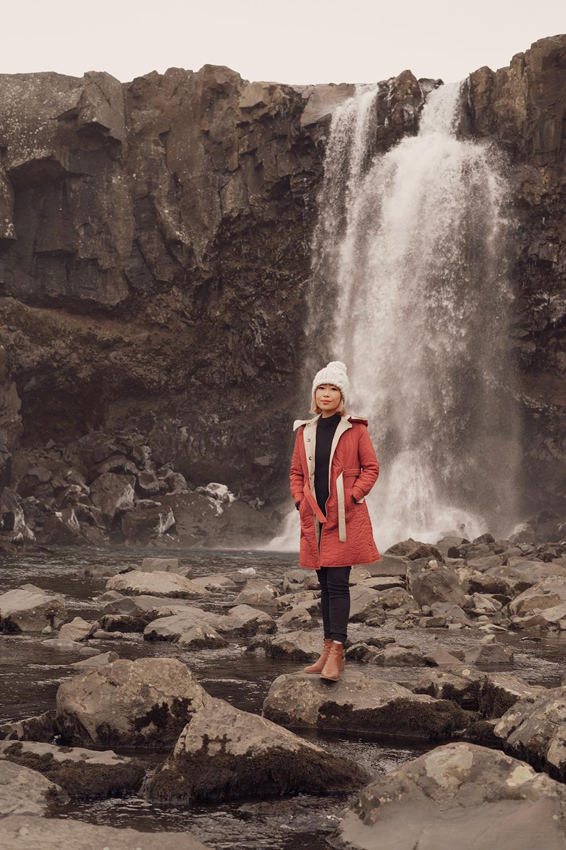 17iceland-gufufoss-waterfall-seydisfjordur-travel-ootd
