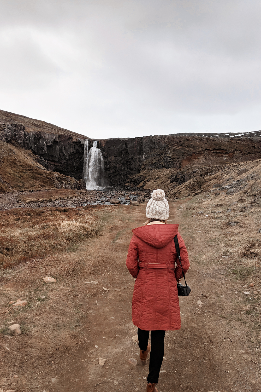 16iceland-gufufoss-waterfall-seydisfjordur-travel-ootd