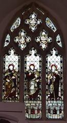 St Peter, St John, St James (Kempe & Co, 1890)