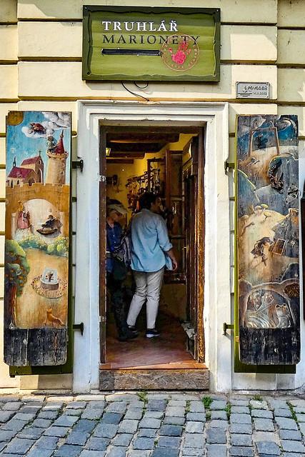 Prague... puppet store