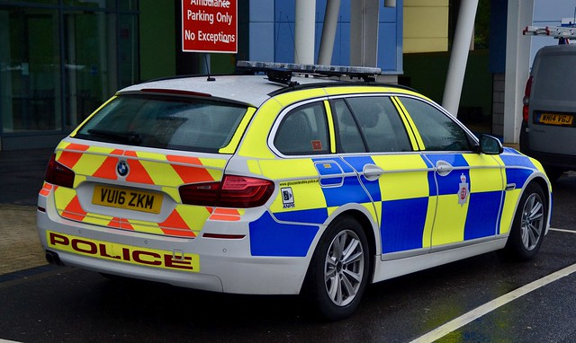 Gloucestershire Police BMW 5 Series Roads Policing Unit