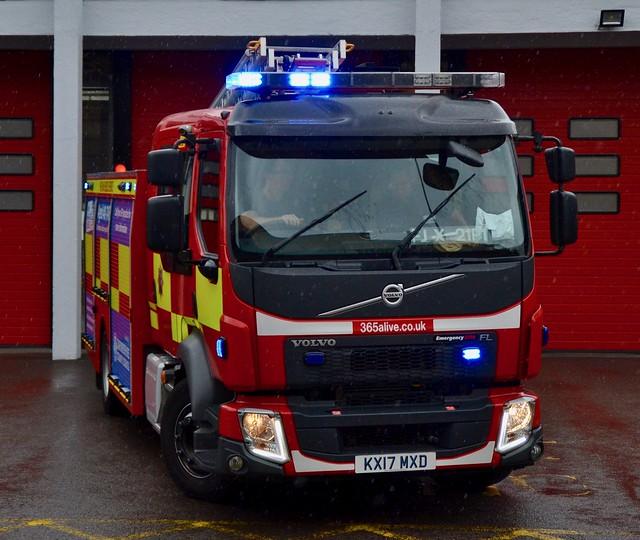 Oxfordshire Fire & Rescue Volvo FL Fire Appliance