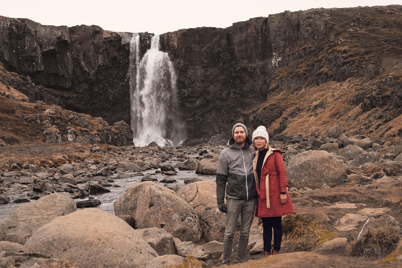 15iceland-gufufoss-waterfall-seydisfjordur-travel-couples-love