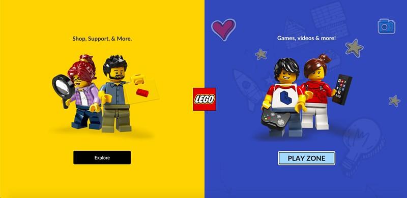 LEGO.com Changes