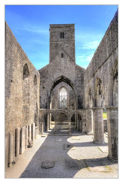 Sligo IR - Sligo Abbey 05