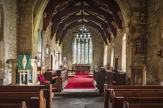 St Cuthbert's Church, Elsdon, Northumberland