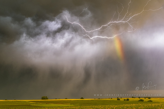 Lightning Rainbow Hail