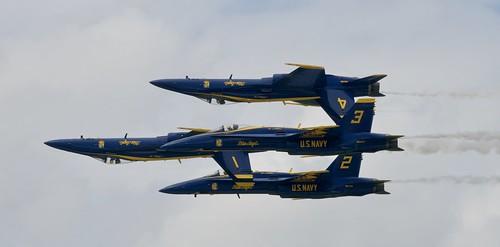 BOEING F/A 18 HORNET, U. S. NAVY BLUE ANGELS,  Duluth Mn (DLH) 2019 Airshow