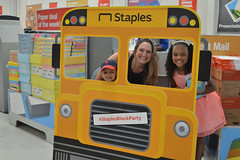 Rep. Cummings had another incredible day collecting school supplies and handing out books with Waterbury Reads Gently Used Children's Book Drive at Staples this past weekend. She wants to send a HUGE thank you to everyone who came out to donate, talk and share a passion for education and reading. She also sends a very special thank you to Staples for hosting and Waterbury Police Officer, and Alderman Michael DiGiovancarlo for serving the community in so many different ways.