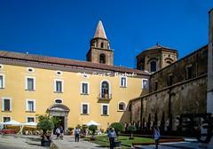 Santa Maria a Vico (CE), 2019, La Basilica di Maria SS. Assunta e il Complesso Aragonese.