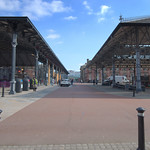 Two ole market canopies at Preston