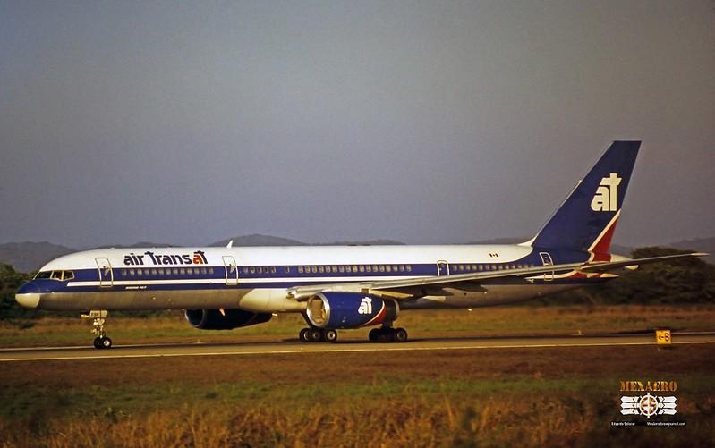 Air Transat / Boeing 757-23A / C-GTSF
