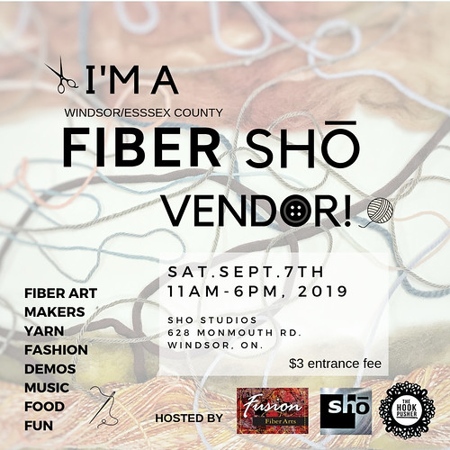 I will be a vendor at this event coming up fast! Stop by, say hi and check out the kits and other yarny goodness!