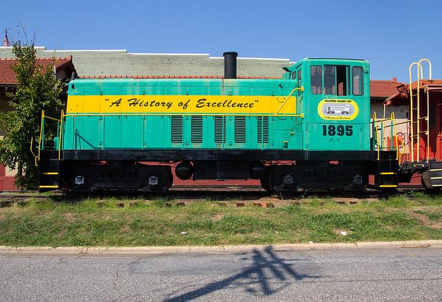 Milltowne Railway 1895 Color