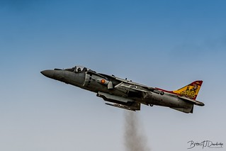McDonnell Douglas AV-8B Harrier II from the Spanish Navy at RIAT