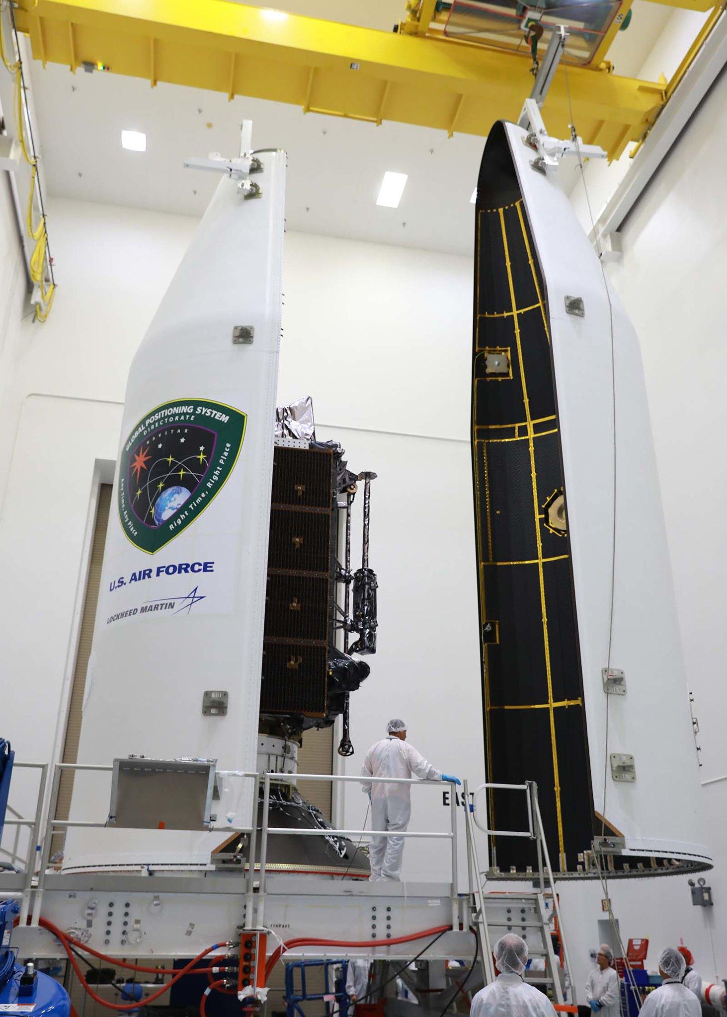 Encapsulation: Delta IV GPS III SV 02