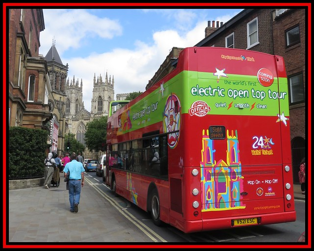 York. Bus To The Minster
