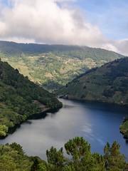 Río Miño. O Cabo do  Mundo (el fin del mundo)