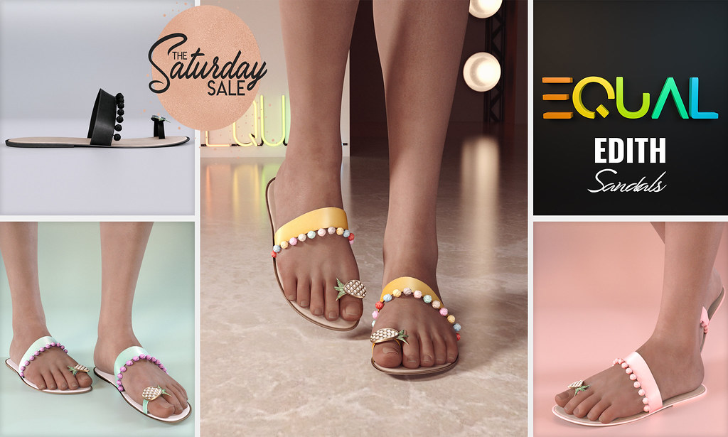 EQUAL – Edith Sandals