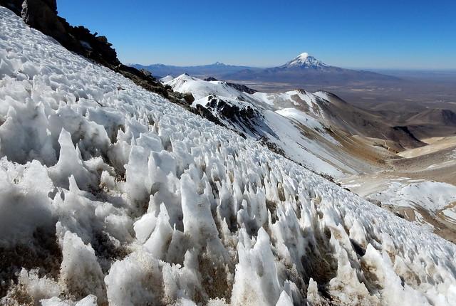 Penitentes e Nevado Sajama