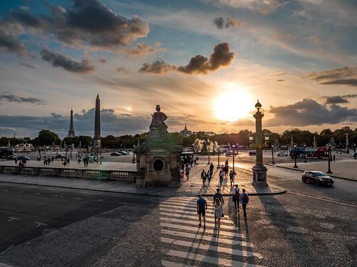 Summer Evening in Paris