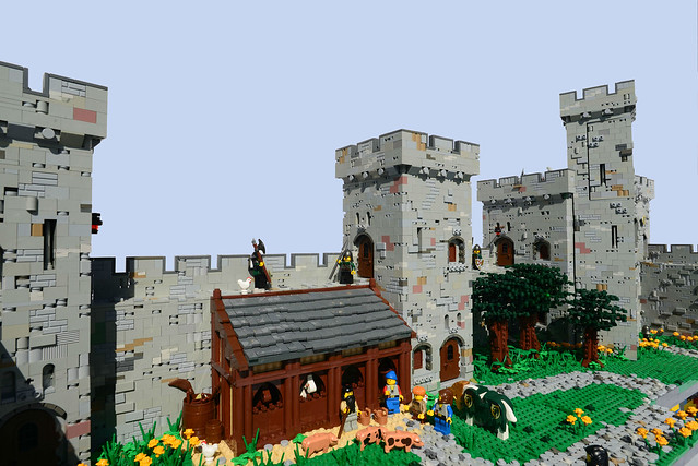 LEGO Castle stables