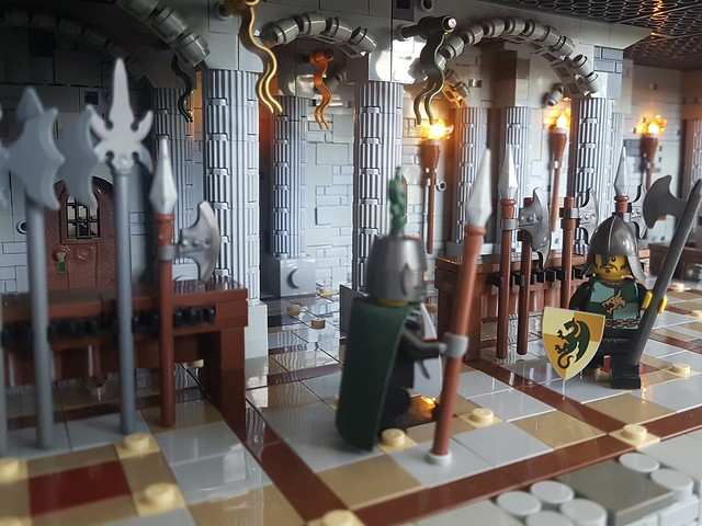 LEGO Castle armoury