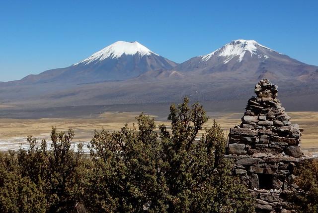 Montes Payachatas desde o Monte Cielo (4550m)