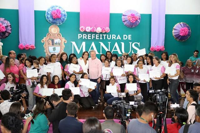 """16.08.2019 Prefeitura comemora 13 anos da Lei Maria da Penha. Na ocasião foi assinado o Termo de Cooperação Técnica para o projeto """"Resgatando Marias"""""""