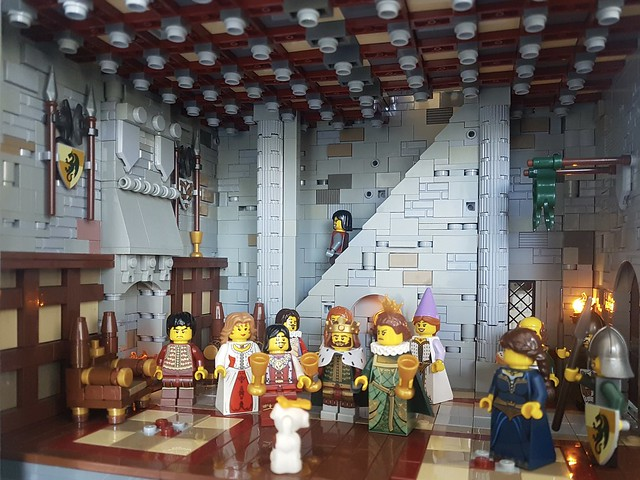 LEGO Castle great hall