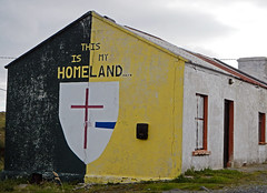 This is my HOMELAND, a home on the bleak landscape of the Donegal Peninsula in Ireland