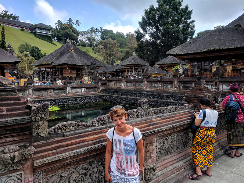 Tampak Siring : The holy Spring Temple